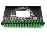 E2K de fibra óptica fibra óptica de 24 puertos deslizante Patch Panel