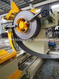 Linha mecânica de Decoiler, de endireitamento e anular com eficiência elevada