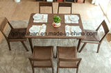 Estrutura de madeira sólida cadeiras de jantar (M-X2625)