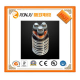 Cable de transmisión de cobre de la envoltura del PVC del aislante del conductor XLPE con IEC 60502