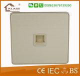 Fabricante do interruptor British Standard 3*6 Interruptor de parede da placa em branco