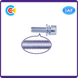 DIN и ANSI/BS/JIS Carbon-Steel/Stainless-Steel комбинации винт из нержавеющей стали с шестигранной головкой подушечки оголовья