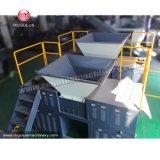 Picadora de papel de la basura sólida/desfibradora de dos ejes
