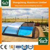 Cerco telescópico da piscina da fábrica com resistente UV