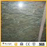 De natuurlijke Tropische Bevloering van de Steen van het Regenwoud Groene Marmeren voor de Vloer van de Zaal