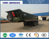 De Cimc 24cbm Cimc da descarga chassi do caminhão de reboque Semi