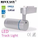 Luz de aluminio de plata caliente AC85-265V de la pista de la carrocería LED de la venta 30W