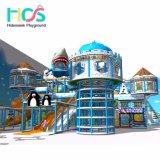 2018 Снег тема Naughty замок детей мягкой игровой площадкой для установки внутри помещений оборудования (HS16401)