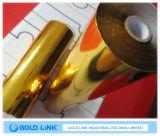 プラスチック使用(GL-V003)のペーパーのための金の熱い押すホイル