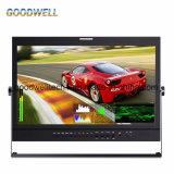 """Painel IPS 3G-SDI Monitor LCD HD de 21,5"""""""