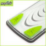 Mop чистки пола ткани Microfiber пряжки ручки Mopanda 360 телескопичный