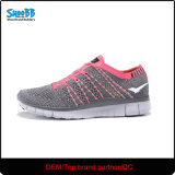 MouledエヴァOutsoleの女性のFlyknitの運動靴