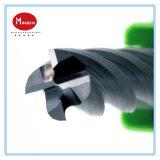Molino de extremo del carburo de tungsteno del CNC
