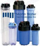 """10 """" grosses blaues Zoll-Wasser-Filtergehäuse FilterHousing/20 """" des Bb-Filtereinsatz-Housing/10 für Wasser-Reinigungsapparat"""