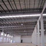 Estrutura de aço pré-fabricados em entreposto franco instalação no piso de concreto