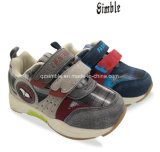 Maglia molle e calzature correnti di sport superiore del bambino dell'unità di elaborazione