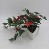 Hibicus flor de seda para la decoración del hogar
