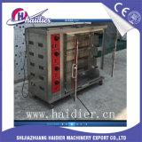 Máquina de Broast del Rotisserie del pollo del gas del horno del pato de Pekín del acero inoxidable