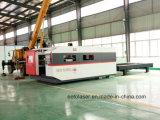 tagliatrice del laser della fibra del metallo di CNC 2000W per il taglio del CS degli ss