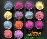 Amarilla UV pigmentos sensibles para la pegatina de tatuajes