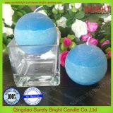 O presente que embala três cores mergulhou vela Scented da esfera feita em China