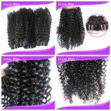 Weave exótico cambojano do cabelo Curly