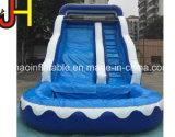 Inflable gigante tobogán de agua utilizada para adultos Piscina diapositiva