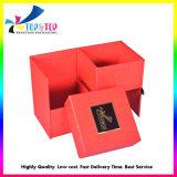 Casella di memoria Handmade di lusso con la timbratura calda