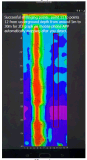 지하 물 검출기 물 측정기 물 탐지 장치를 지도로 나타내는 0-200m 이동 전화