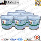 Plastic/PE/PVC/PP/HDPE/Pet/Nylonのための水の基づいたFlexoの印刷インキ