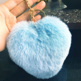 Guarnizioni della catena chiave Ball/POM POM della pelliccia/sfera pelliccia del coniglio