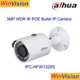 3MP Dahua Poe infravermelho Mini-Bullet CCTV Câmara IP Ipc-Hfw1320s