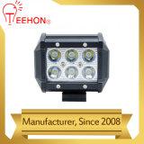 Lumière de travail de l'éclairage DEL d'automobile guide optique de 18 watts
