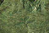 Tela de tapicería verde del Chenille por una calidad más barata