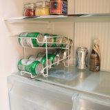 El coque de la cerveza de la soda puede estante de visualización de la bebida del refrigerador del dispensador