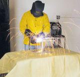 Tela protectora combinada del fuego de cubierta de los soldadores a prueba de calor de la soldadura de la fibra de vidrio