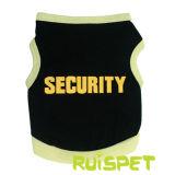 Cão de segurança T-shirt Colete Pet Puppy roupas