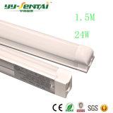 Qualità Integrated calda 24W di progetto del tubo della lampada della parentesi del venditore 1500mmt8. Tubo fluorescente del LED