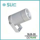 La mayoría de ángulo de haz estrecho LED bañador de pared