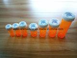 Tubos de ensaio da série dos PP Roboticized com tampões Child-Resistant & os tampões instantâneos