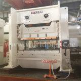 máquina da imprensa de potência 160t mecânica com corpo do frame de C e a manivela dobro