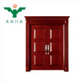 Китай Alibaba оптовой цельной древесины высокого качества передней двери