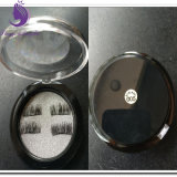 3D de las pestañas magnético reutilizable de visón imán falsas pestañas