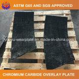 Plaque d'usure de carbure de chrome de soudure pour la remise matérielle