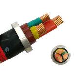 Câble d'alimentation souterrain 3X150mm2 18/30kv XLPE/PVC avec l'armure