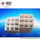 Tailles flexibles carrées de tube de PVC de plastique de sucrerie pour le système de protection de fil