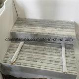 Sela de mármore branca de Carrara para o banheiro