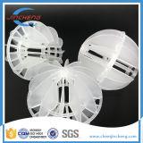 Polyhedral Bola de plástico hueco de embalaje con ácido Reistance alto