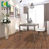 L'intérieur en utilisant le bois de la famille Regarder un revêtement de sol en vinyle PVC, ISO9001 Changlong Clw-08