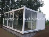 유연한 현대 저가 변경된 콘테이너 조립식으로 만들어지는 조립식 햇빛 룸 또는 집